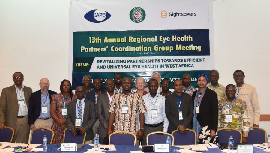13th Regional Eye Health Partners Meeting for West Africa