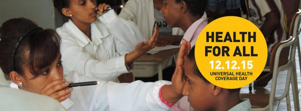 Universal Health Coverage, Eye Health and Accountability