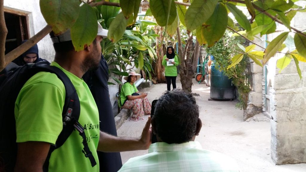 Fundraising for RAABs. An eye screening in Maldives for the Maldives RAAB