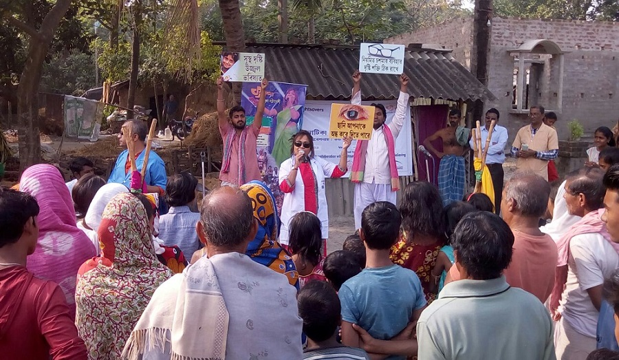 Sightsavers India, Making change using culture as a tool – Community Health Awareness Program using Theatre in Sundarbans