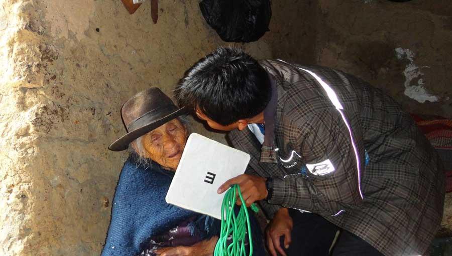 CBM y El Programa Visión Inician un Trabajo de Impacto en la Prevalencia de Ceguera En Bolivia