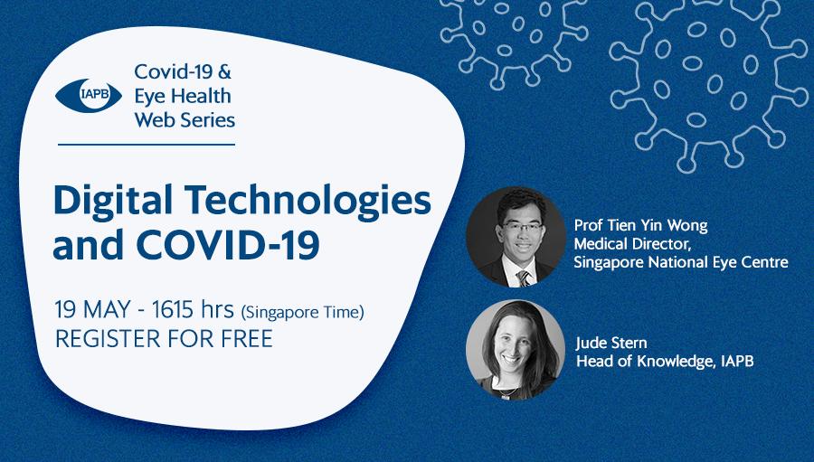 IAPB Webinar: Digital Technologies and COVID-19