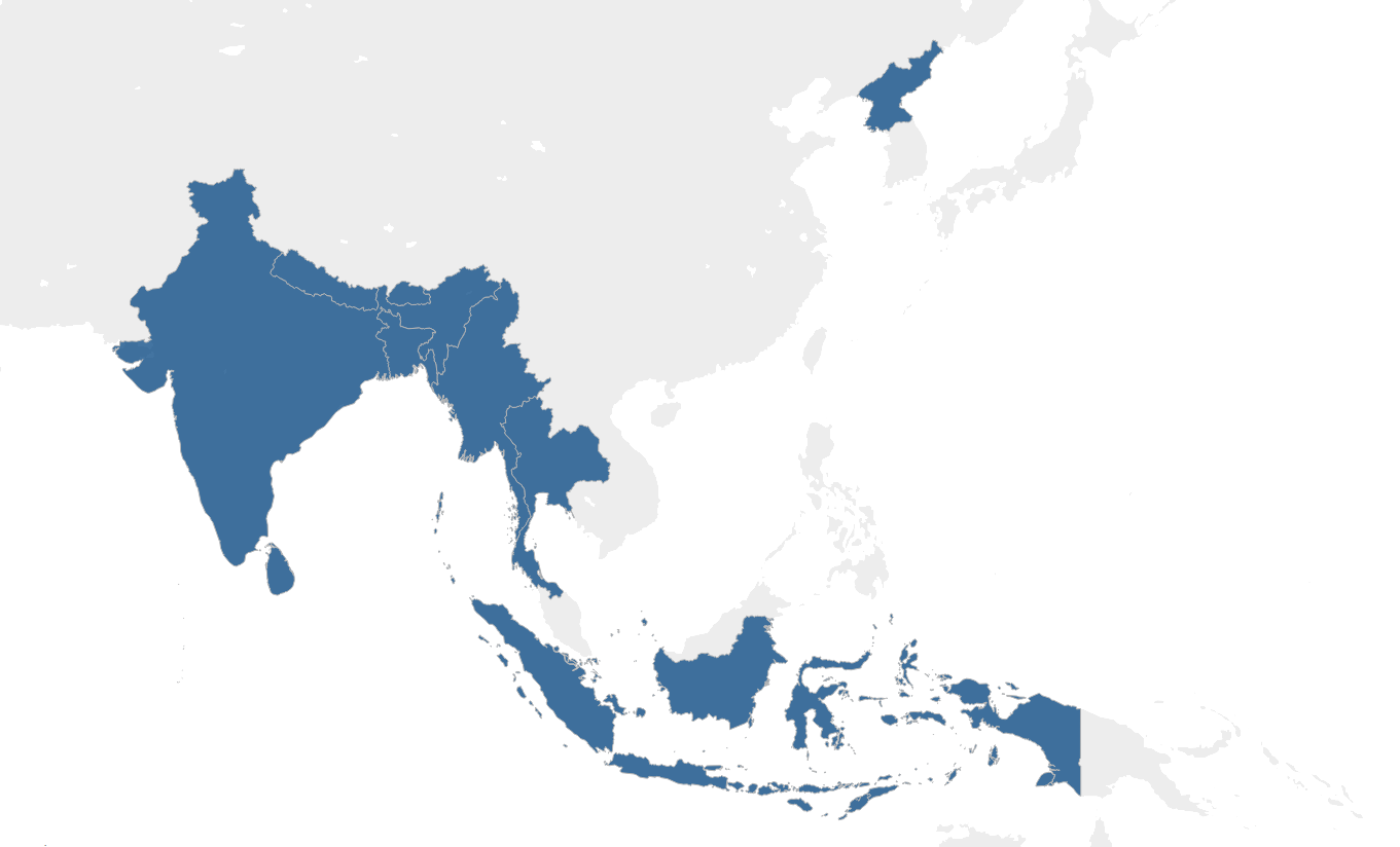 Picture of: South East Asia The International Agency For The Prevention Of Blindness