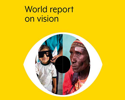 World Report on Vision front page