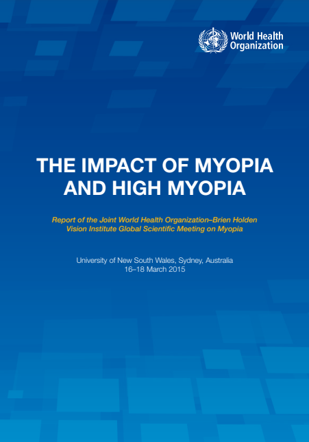 The Impact of Myopia and high Myopia
