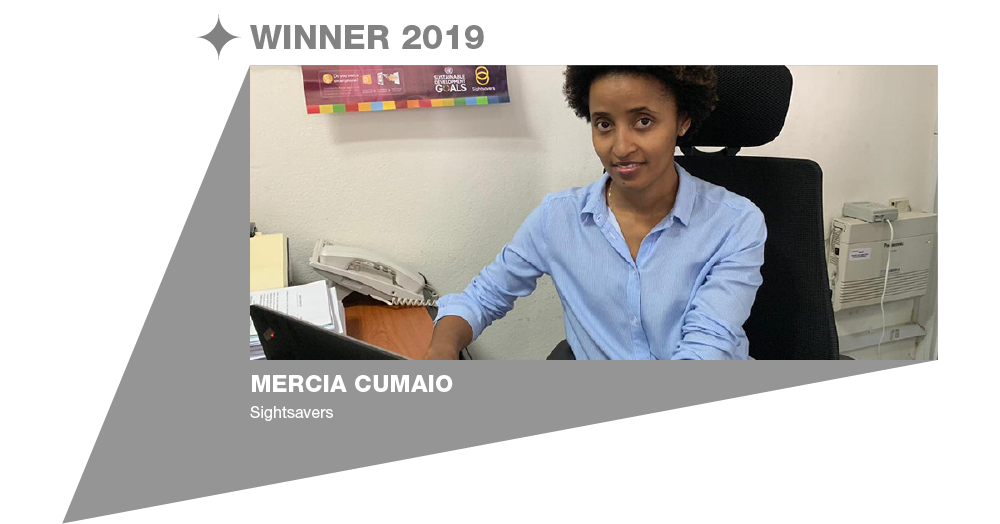 Eye Health Hero: Mercia Cumaio