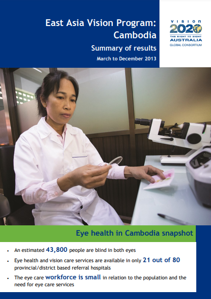Eye Health Systems Assessment Cambodia