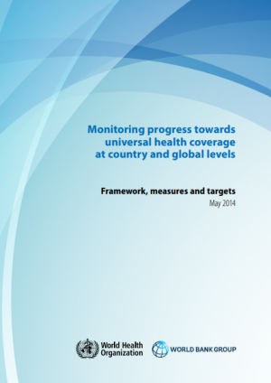 Monitoring progress towards Universal Health Coverage