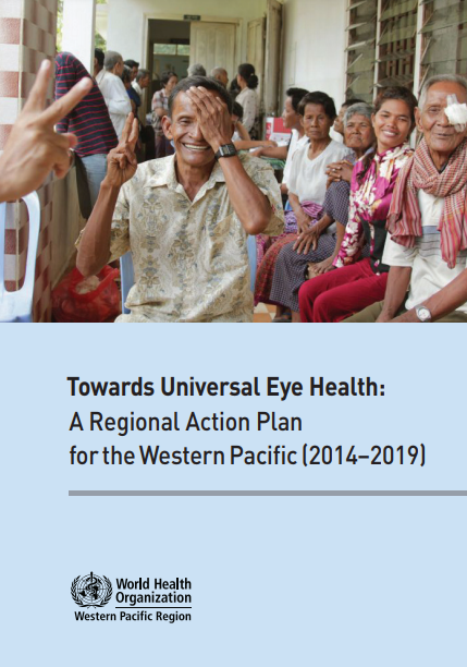 Regional Action Plan for Universal Eye Health: Western Pacific
