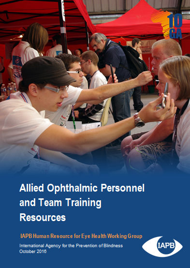 Allied Ophthalmic Personnel and Team Training Resources