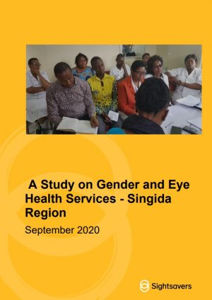 Gender Study Report Singida Region