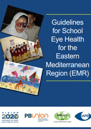 Guidelines for School Eye Health in the Eastern Mediterranean Region