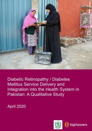 LHW Diabetic Retinopathy Pakistan
