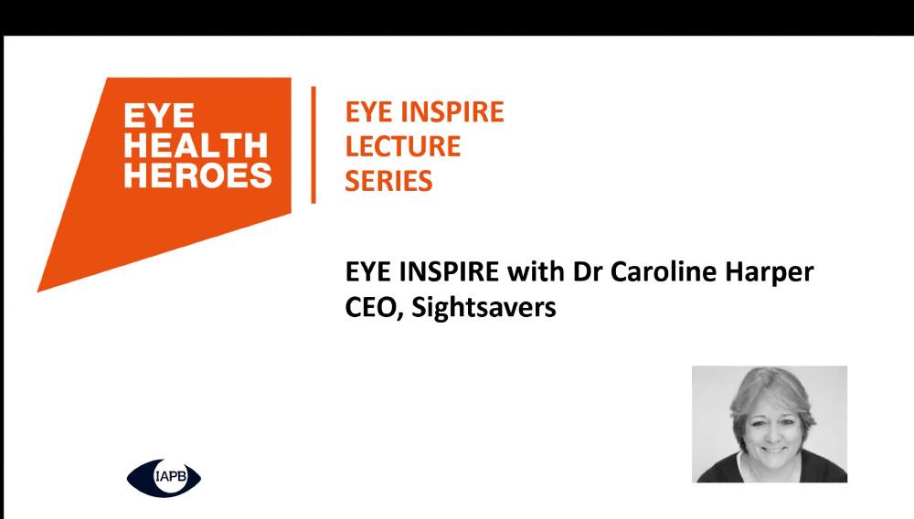 EyeInspire Caroline Harper