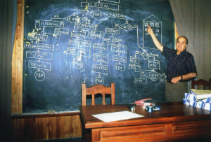 Dr Hugo Nano teaching