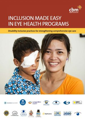 Inclusion Made Easy in Eye Health Programs