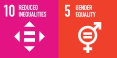 SDG tiles 10, 5
