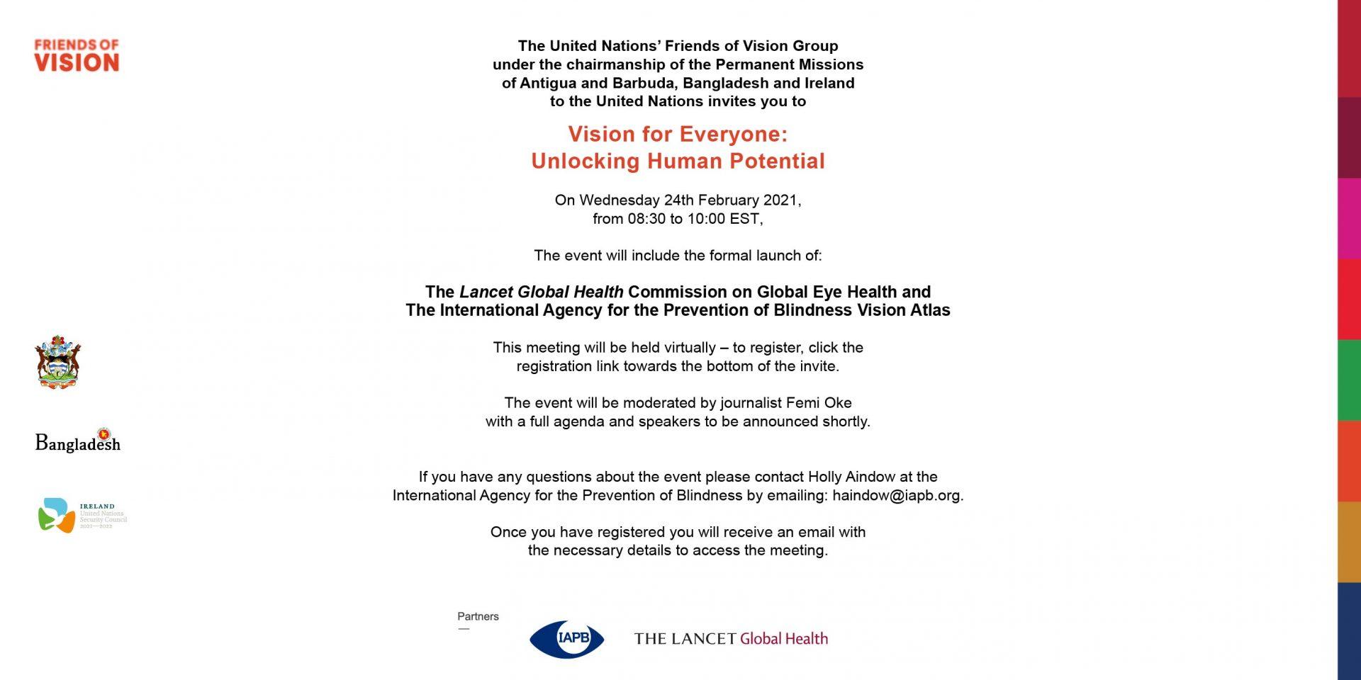 UNFoV invite