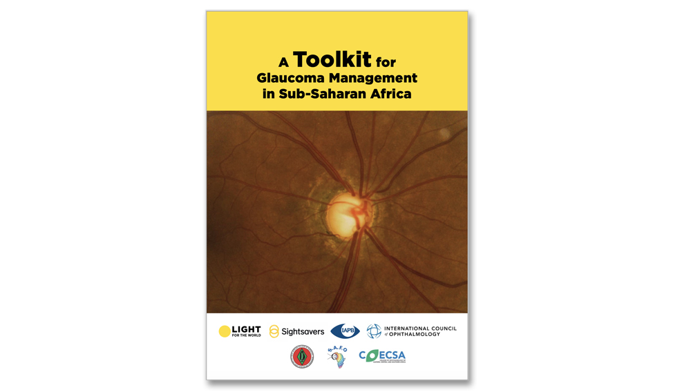 The first Toolkit for Glaucoma Management in Sub-Saharan Africa