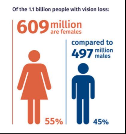 Vision Atlas gender stat