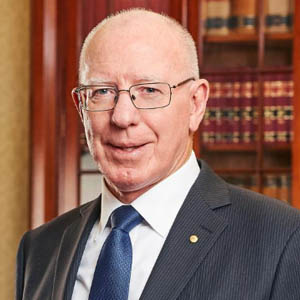The Governor General of Commonwealth of Australia, His Excellency General the Honourable David Hurley AC DSC (Retd)