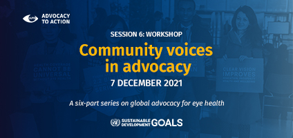 Community voices in Advocacy