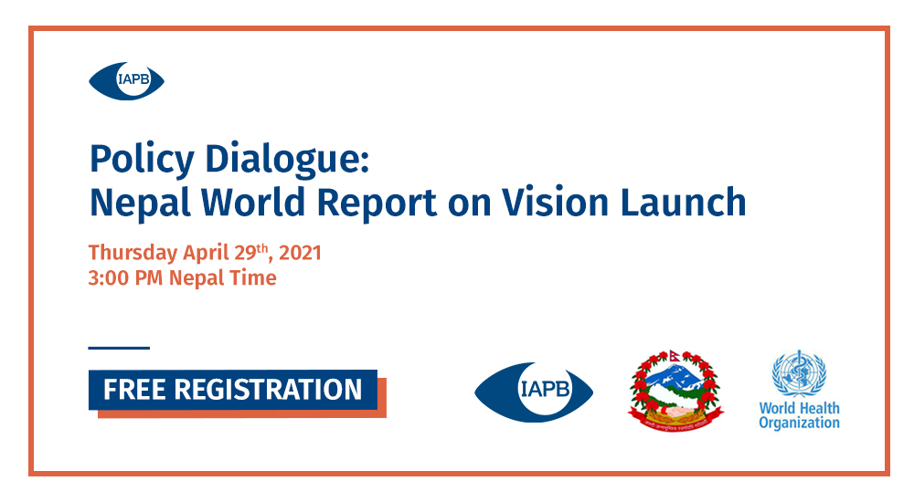World Report on Vision Launch - Nepal