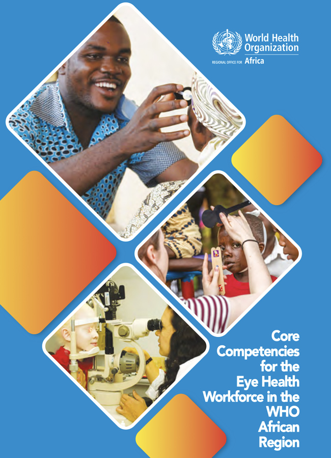 Core competencies for the eye health workforce in the WHO African Region