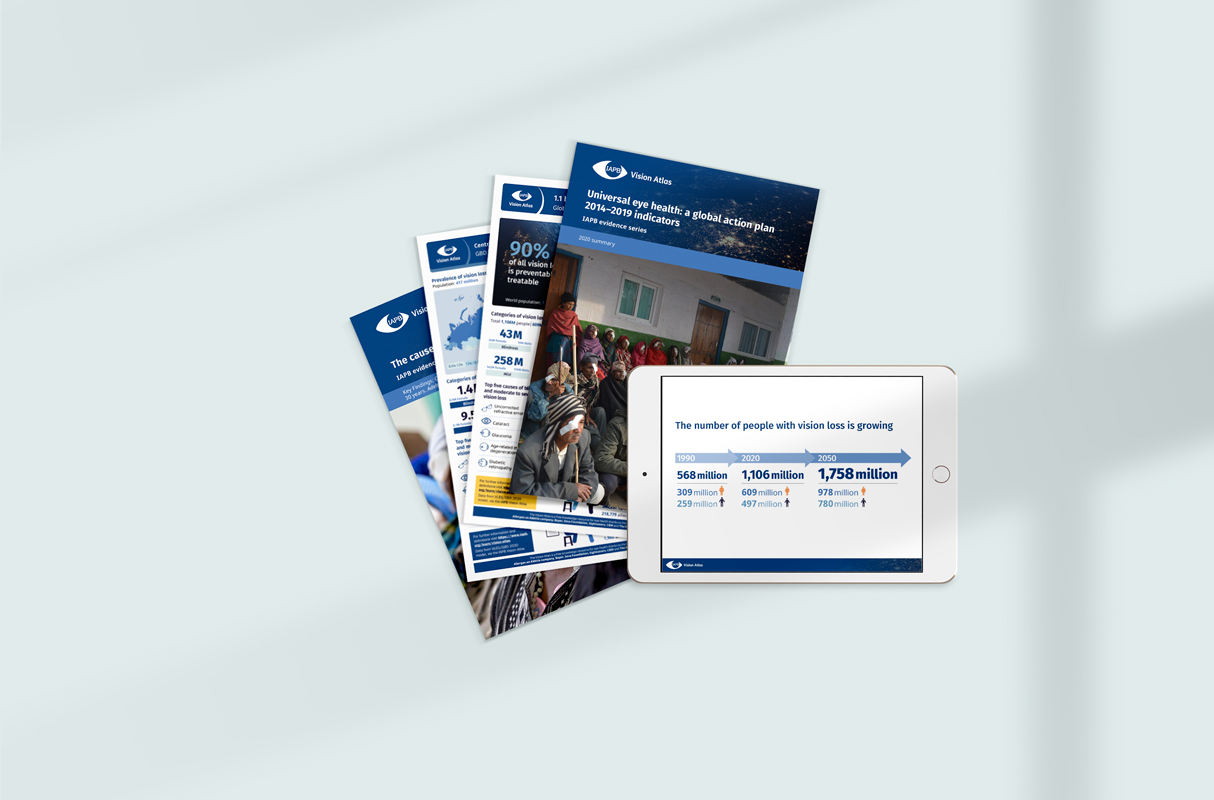 Digital resources available for download from the Vision Atlas