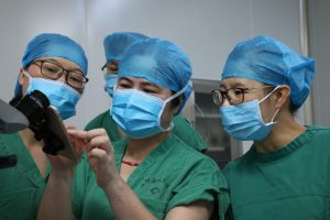 Training femle ophthalmologists in Guangxi