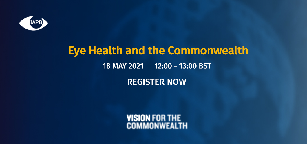 Eye Health and the Commonwealth - Webinar