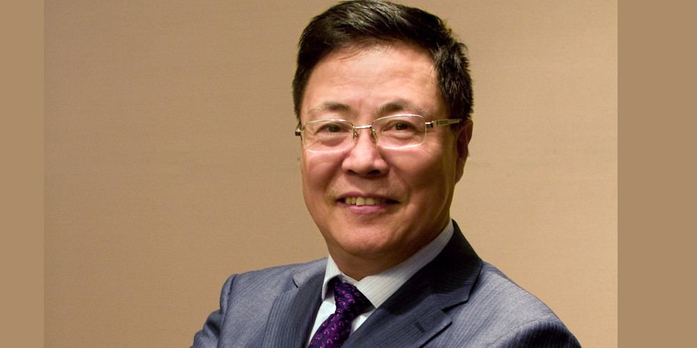 Ningli Wang smiling