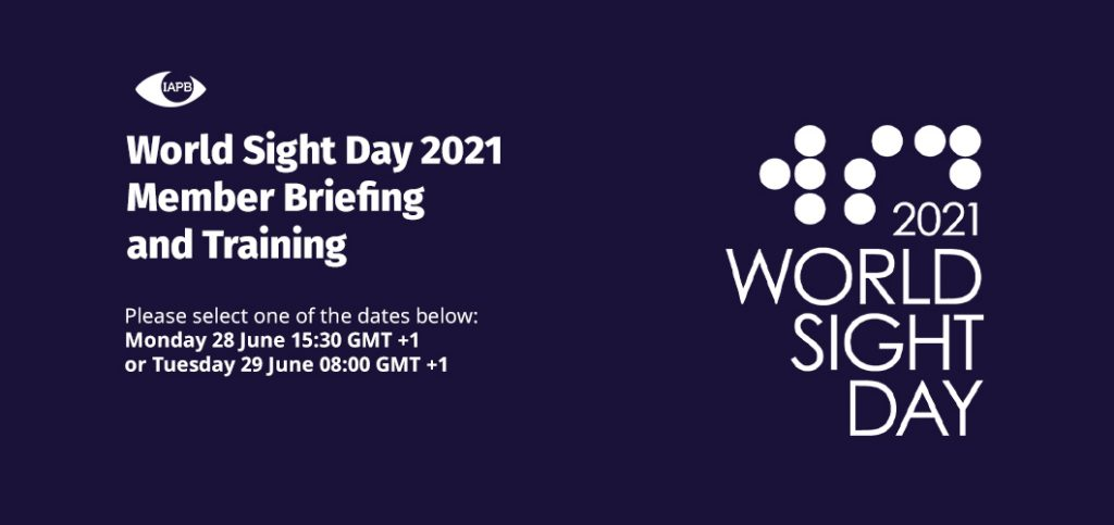 World Sight Day 2021: Member Briefing and Training