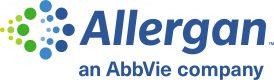 Allergan, an AbbVie company, logo