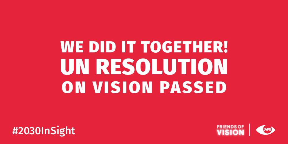 UN resolution passed!