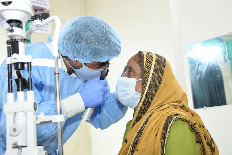 Ocular Examination During COVID-19 Pandemic in Bangladesh