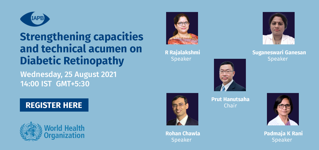 Strengthening capacities and technical acumen on Diabetic Retinopathy