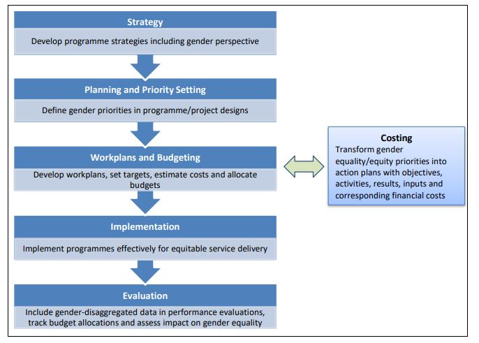 Diagram from Gender Responsive Budgeting Tool