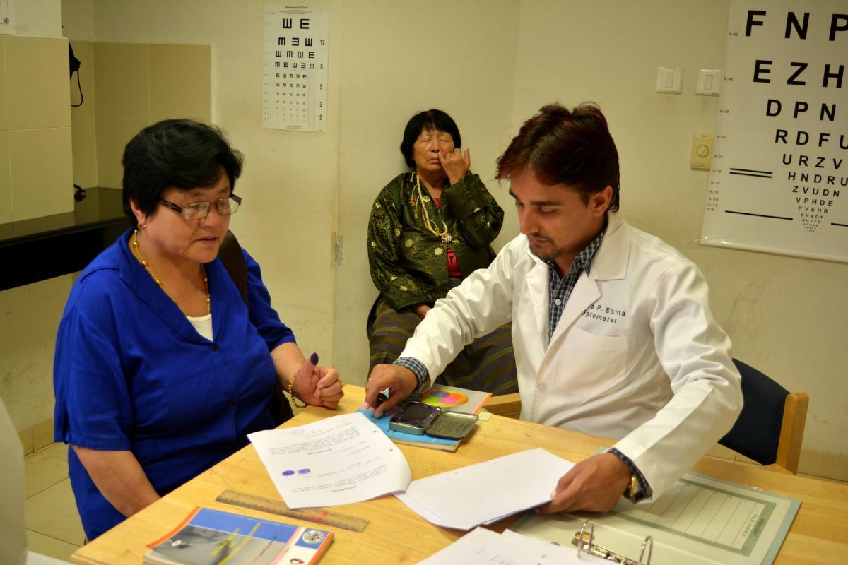 Screening for diabetic retinopathy