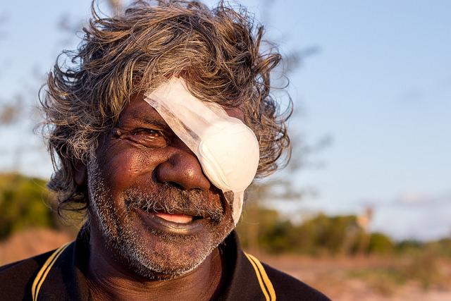 Indigenous artist Peter Datjin