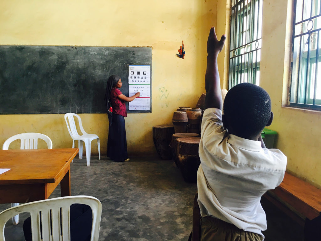 School eye screening in Uganda, Jea-hoon Joo, Vision Care; #StrongerTogether Photo Competition