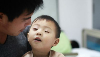 A patient in China - Photo © SightLife