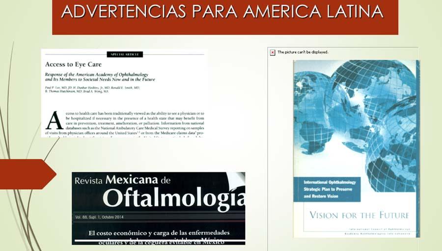 Advertencias Para America Latina