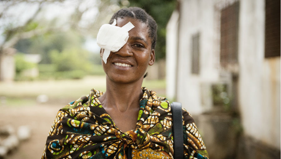 Alll smile after cataract surgery by Eliza Deacon