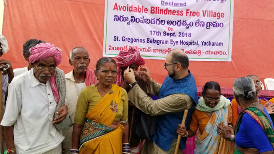 Aly in Yacharam/ Story: How do we ensure eye care is everywhere?