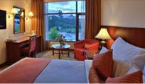 Room at the Annapurna Hotel