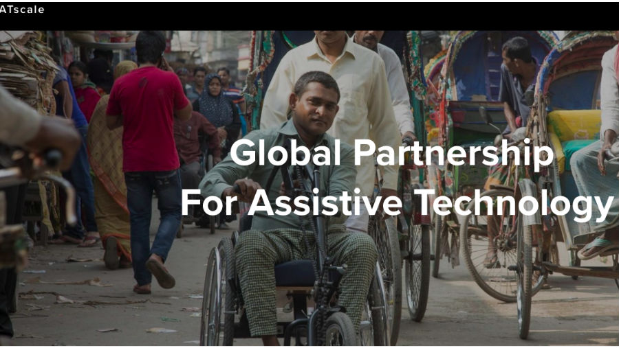 ATscale homepage/ATscale: A Global Partnership for Assistive Technology launched