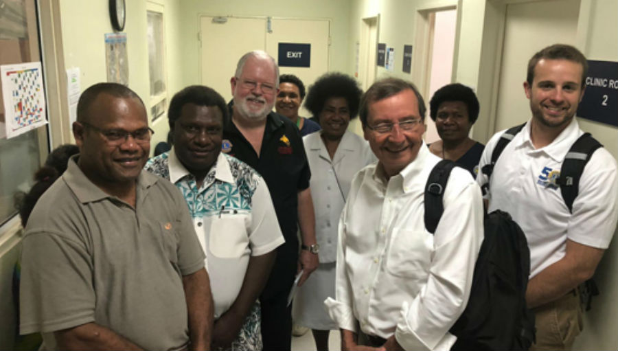 BHVI Lions visit/ Story: Lions commitment to improving life in PNG through eye health