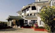 Front view of Hotel Bhrikuti