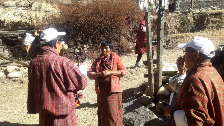 Story: Bhutan meets the WHO Global Action Plan target on blindness reduction/RAAB in progress in Bhutan
